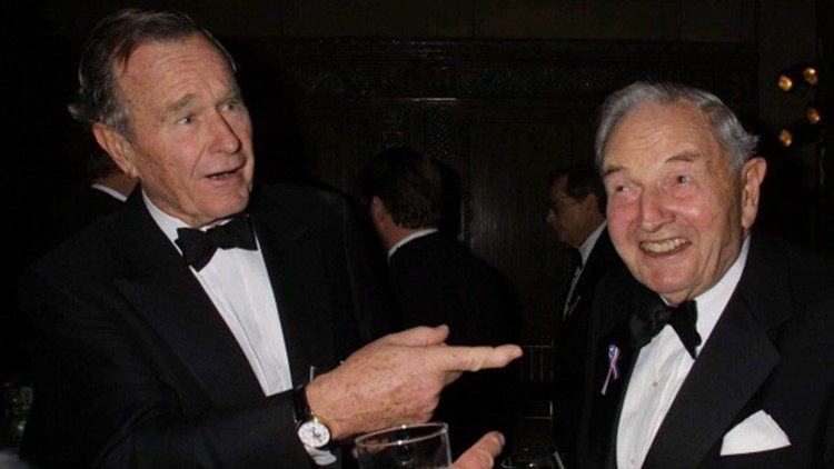 Photo of In 1991, David Rockefeller spoke of a globalist-media collusion to install a world government