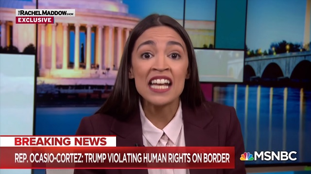 Photo of Ocasio-Cortez: Trump Is 'Anti-American' For Not Letting In Every Foreigner Who Wants To Come To America