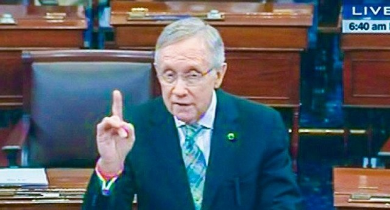 Photo of Harry Reid is dying of pancreatic cancer