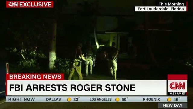 Photo of FBI Raids Roger Stone With CNN Cameras By Their Side, Continues Arresting Everyone Who Helped Trump Win