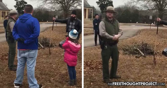 Photo of VIDEO: Volunteers Kicked Out of Nat'l Park for Cleaning It During Shutdown—Without a Permit