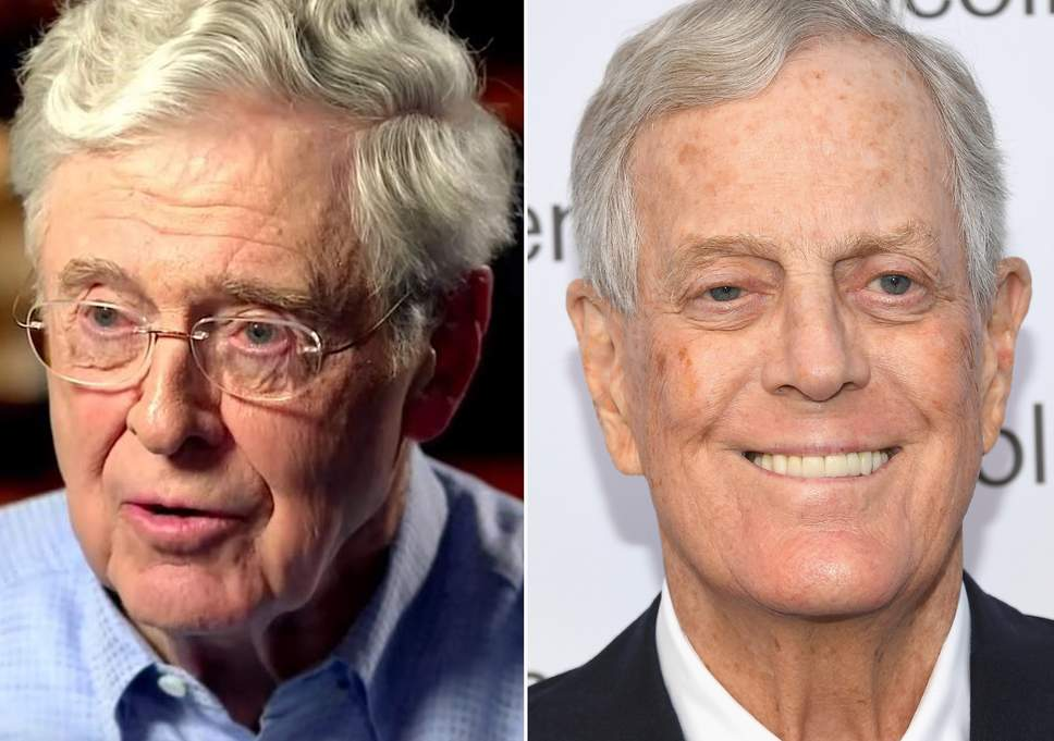 Photo of Globalist Koch Bros Show True Colors, Abandon Trump For Democrats In 2020