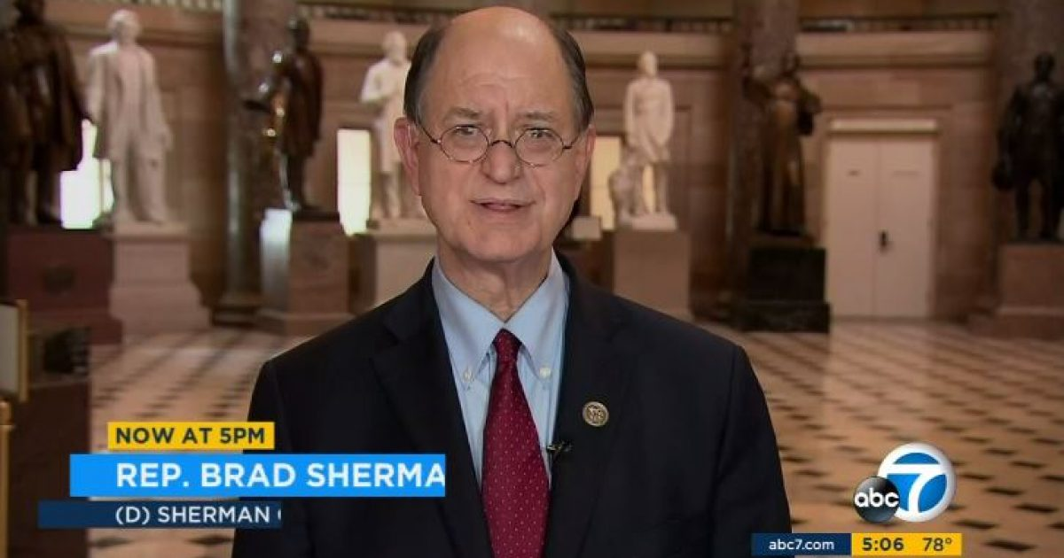 Photo of California Dem Brad Sherman reintroduces articles of impeachment against Trump on first day of new Congress