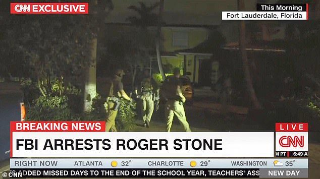 Photo of CNN Got Inside Tip About FBI Raid On Roger Stone & It's Lying About It