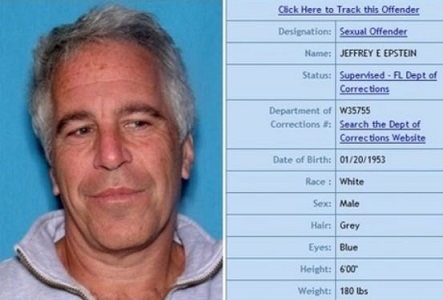 Photo of Pedophile Jeffrey Epstein was an informant for Robert Mueller's FBI