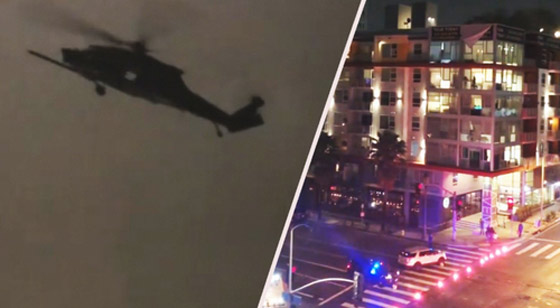 """Photo of """"WTF Is Going On In Downtown LA?"""" : Army War Drills Continue Across Los Angeles"""