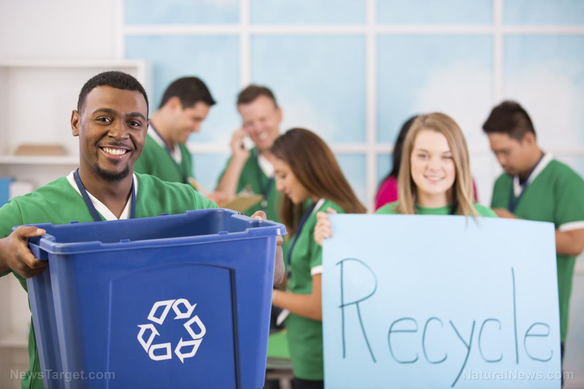 "Photo of The ""Recycling"" Scam: U.S. cities now just burning recyclables because no one wants to accept the raw material"