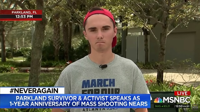 Photo of David Hogg: AR-15 Owners Are 'Hunting' Human Beings