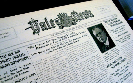 Photo of Yale University Daily News op/ed urges students to spy on white male classmates to ruin their future careers