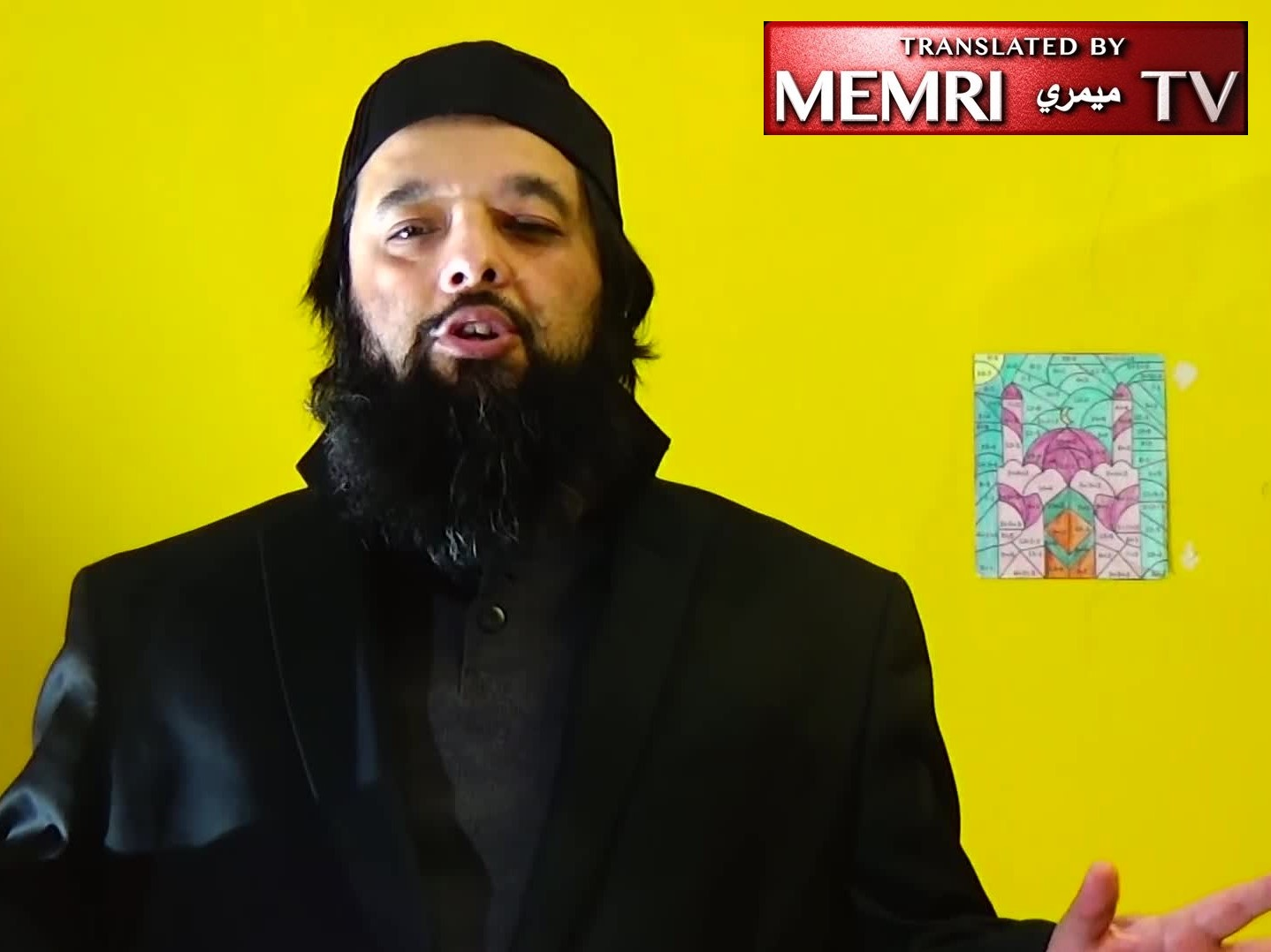 "Photo of Illinois Muslim Cleric: ""We All Have A Higher Goal & That Is The Establishment Of The Caliphate"""