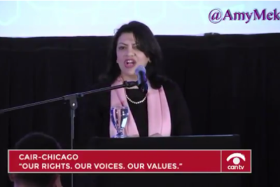 "Photo of Rashida Tlaib At Terror-Tied CAIR Event: ""We Always Said 'The Muslims Are Coming'… I Think We're Here!'"""