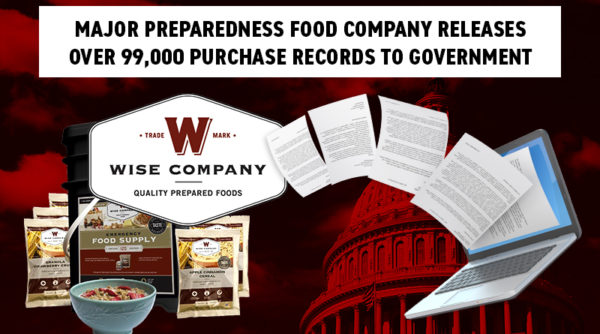 Photo of Wise Food Storage Turns Over 99,000 Purchase Records to Government as Part of Shocking Class-Action Lawsuit