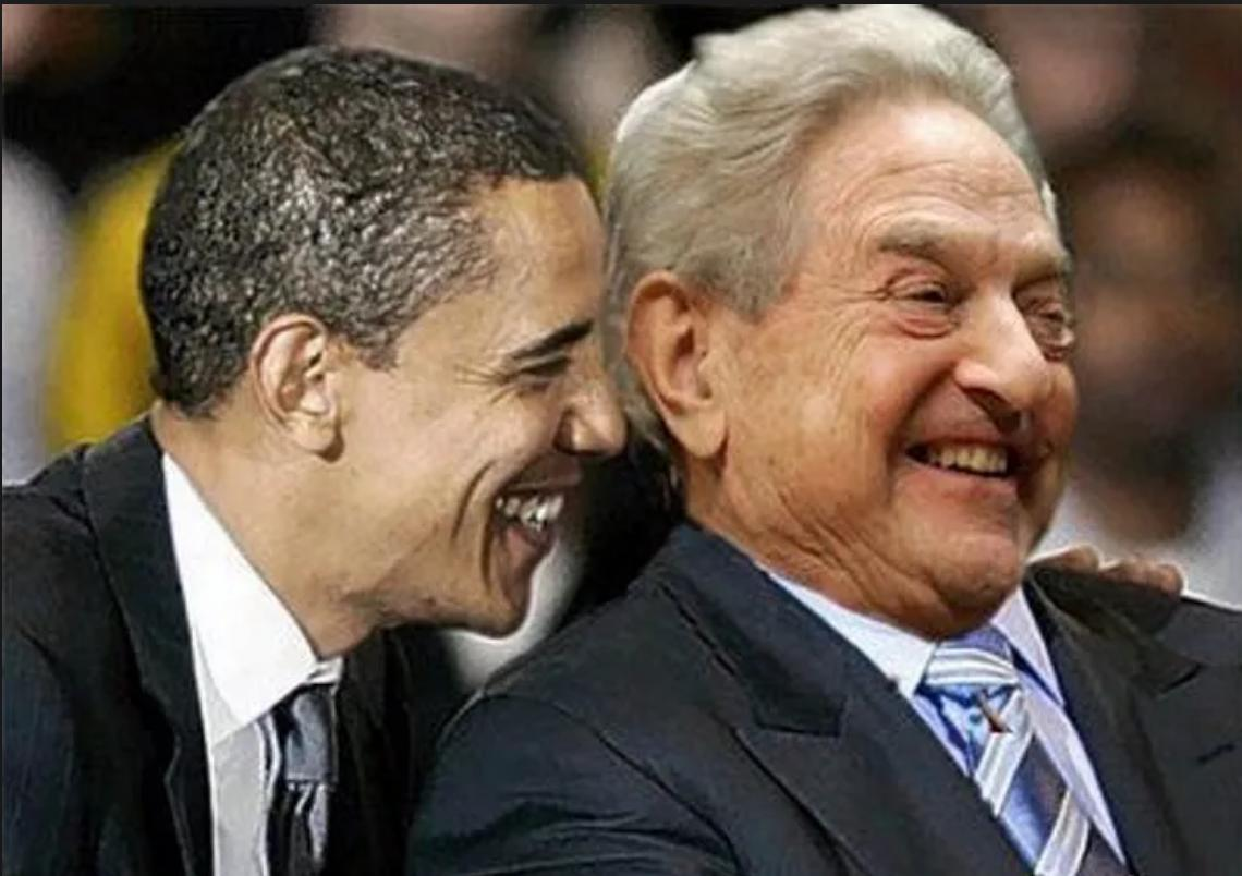 "Photo of Obama Admin Pressured Ukraine Not to Investigate ""Mega-Donor"" George Soros"