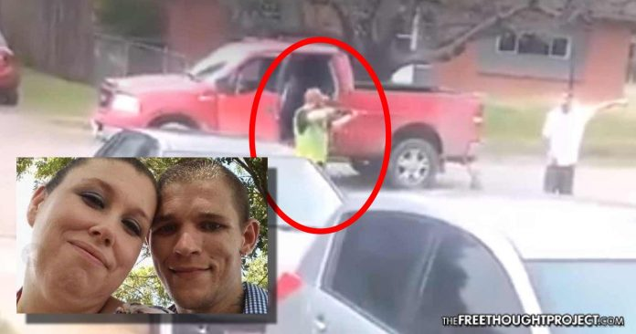 Photo of Texas: Cop's Son Shoots, Kills Unarmed Man in Broad Daylight, On Video—NO CHARGES