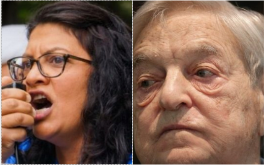 Photo of Rashida Tlaib got $225,180 from Soros' organization AND paid herself $45K from campaign funds