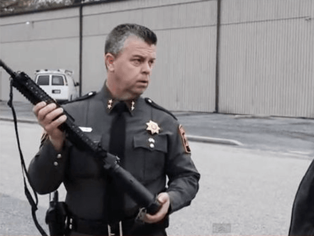 "Photo of Maryland Sheriff on Gun Confiscation Bills — ""We Will Not Comply"""