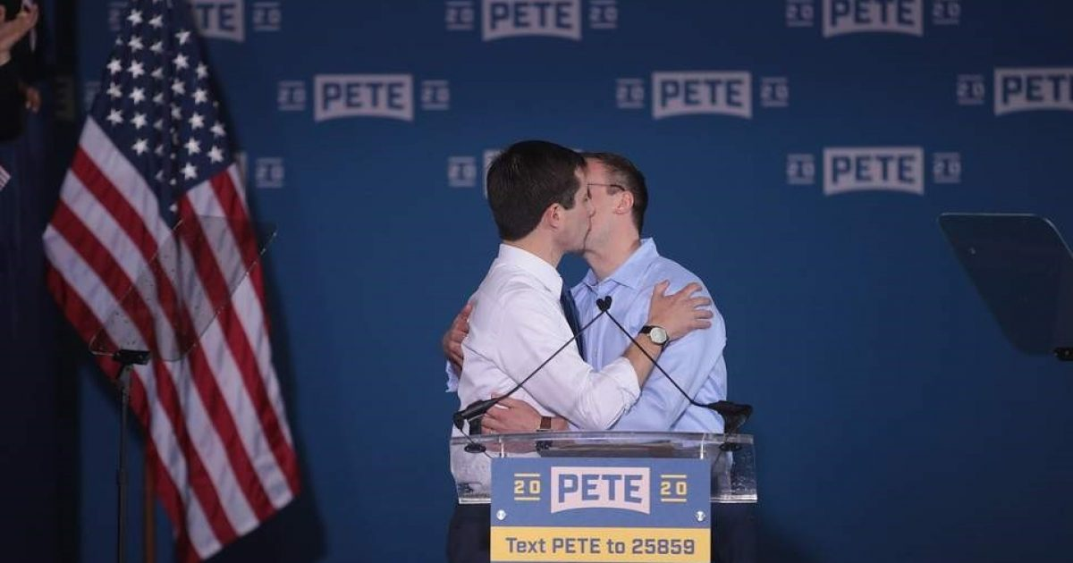 Photo of Presidential Hopeful Pete Buttigieg: I Cannot Help Myself, I Was Born This way! It's God's Fault – Blasphemy!