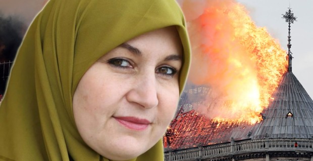 "Photo of Muslim Politician in Canada Says Notre Dame Fire Was ""Divine Intervention"""