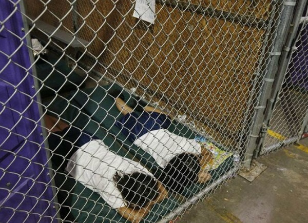 """Photo of Insanely dishonest """"mainstream media"""" now pretending that Obama's caging of migrant children was his humanitarian way of """"protecting"""" them"""