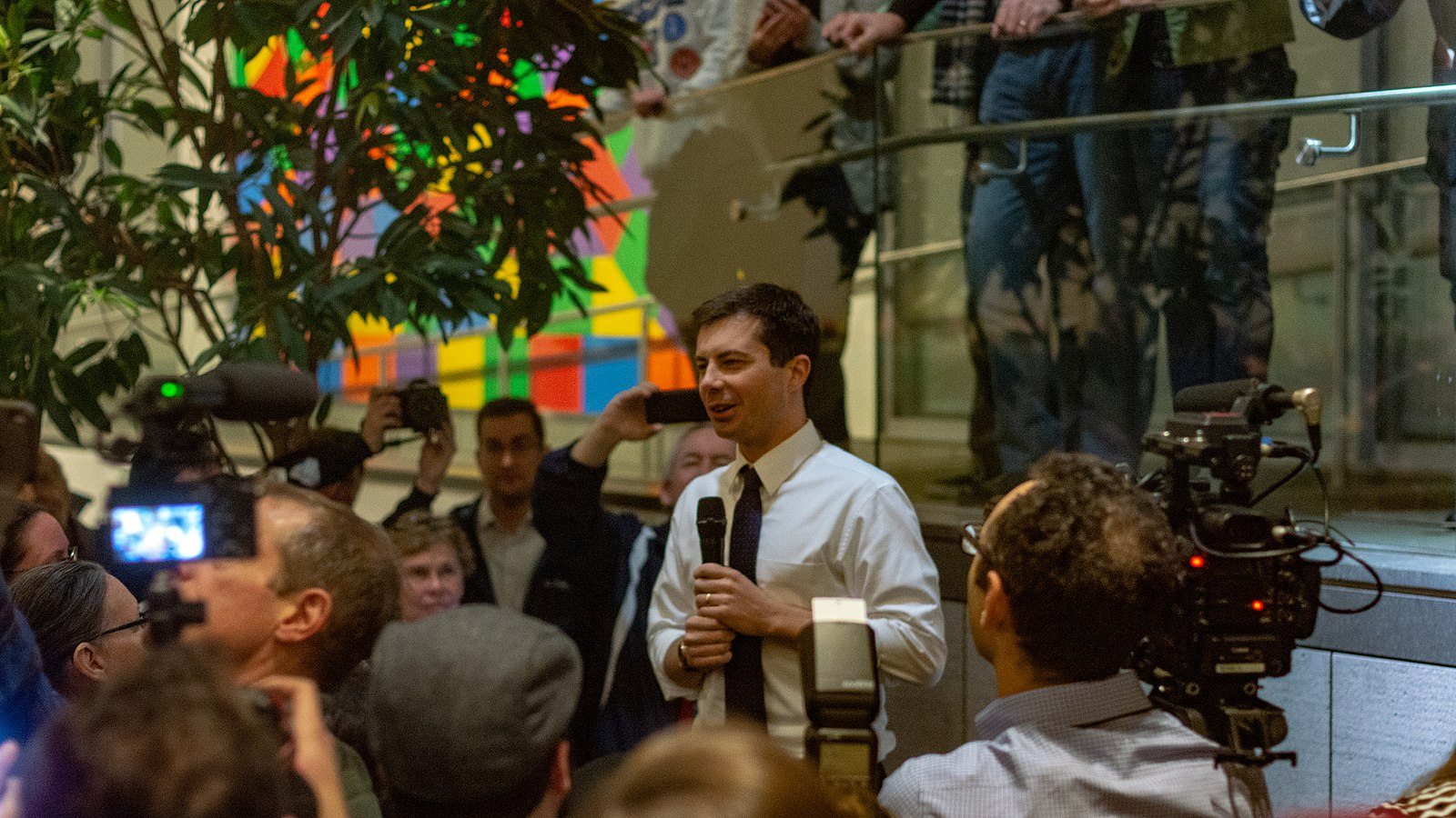 Photo of Pete Buttigieg Is Drawing The Same Sorts Of Crowds That Barack Obama Did During His First Presidential Run