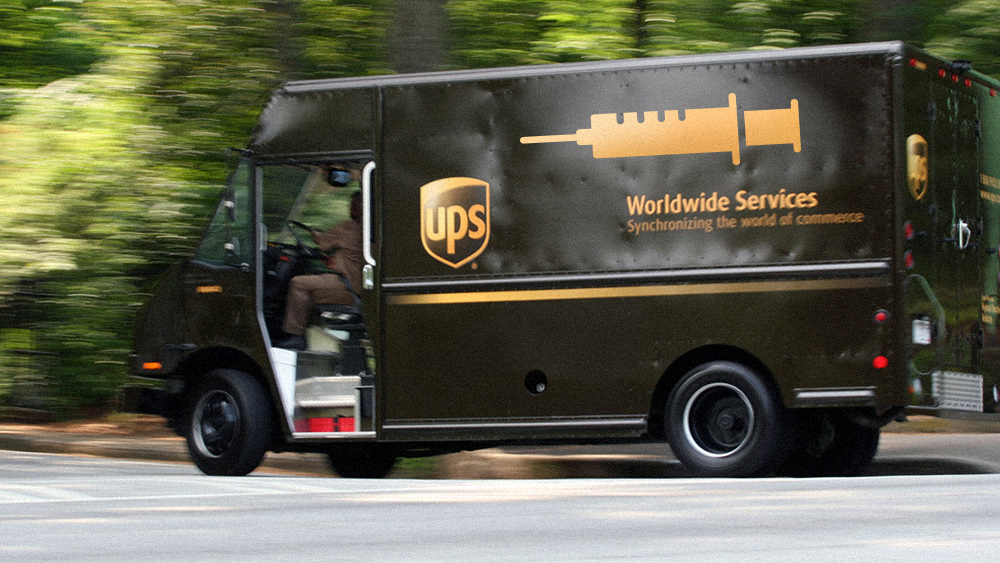 Photo of UPS partnering with drug giants to inject you with vaccines in your own home… pilot project a blueprint for nationwide vaccine mandates at gunpoint
