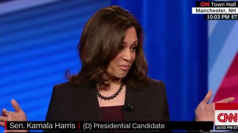 Kamala Harris promises to rule like dictator on guns if Congress doesn't do what she wants