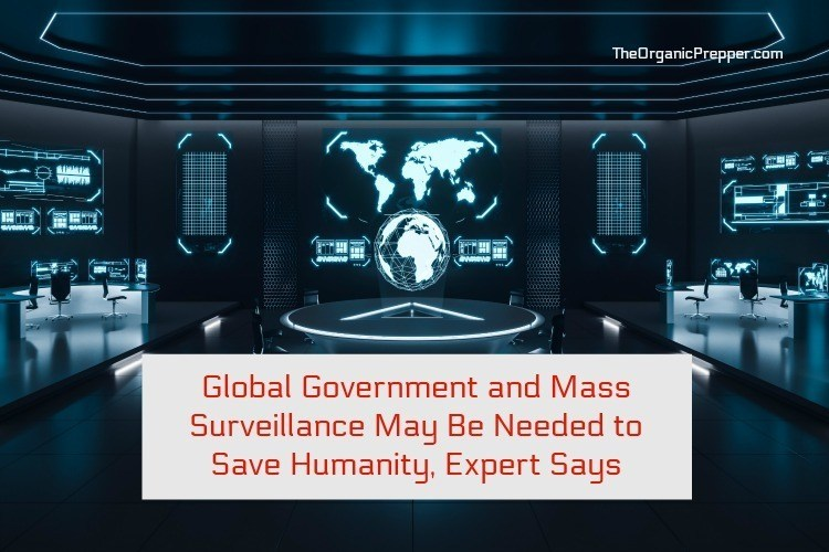 Photo of Global Government and Mass Surveillance May Be Needed to Save Humanity, Expert Says