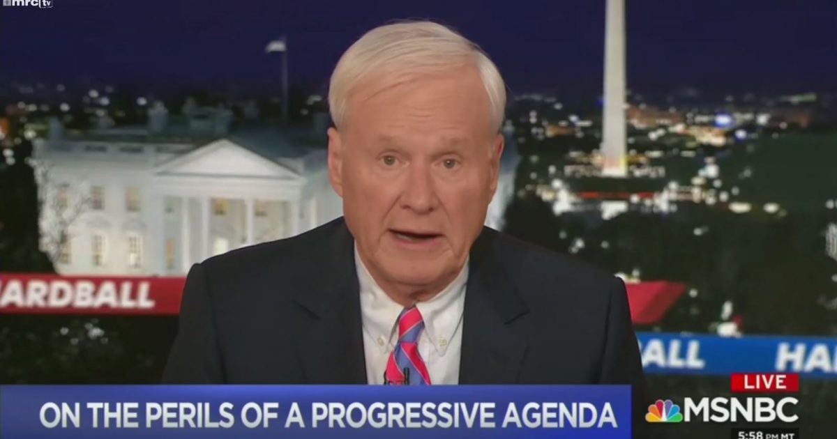 Photo of Attention Dems: When Chris Matthews says Trump will win in 2020, you know you're in trouble