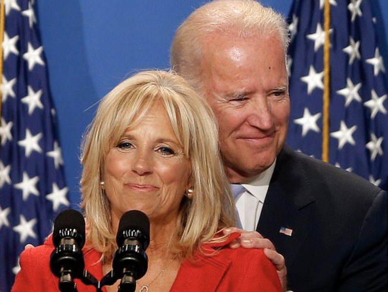 "Photo of Even Joe Biden's Wife Said His Constant Groping Made Her Feel ""Strange And Uncomfortable"""