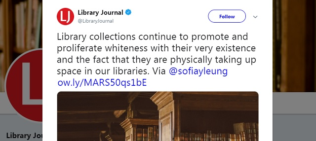 Photo of MIT Librarian Slams White People For Writing Books