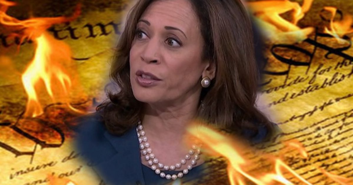 "Photo of Gun Confiscating Presidential Candidate Kamala Harris: ""I Will Take Executive Action"" On Guns If I Am President"