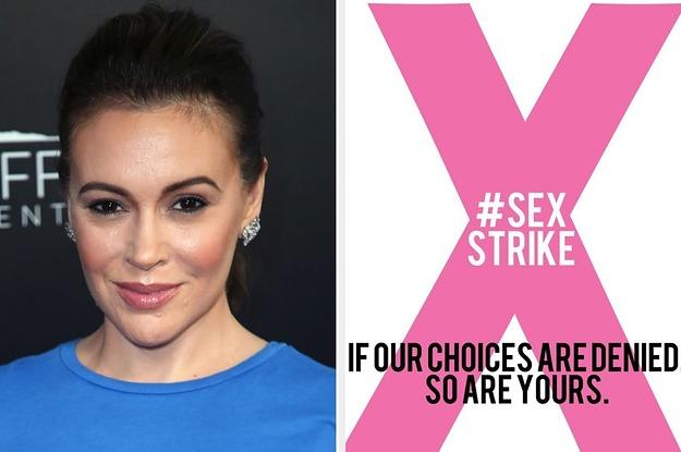Photo of Alyssa Milano calls for sex strike to protest Georgia pro-life heartbeat law