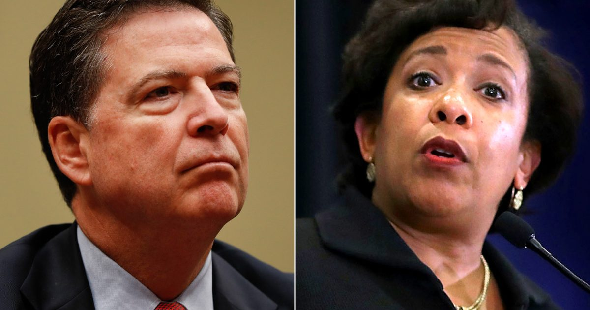 Photo of As The Traitors Turn: Loretta Lynch Contradicts Comey Over Clinton Email Investigation