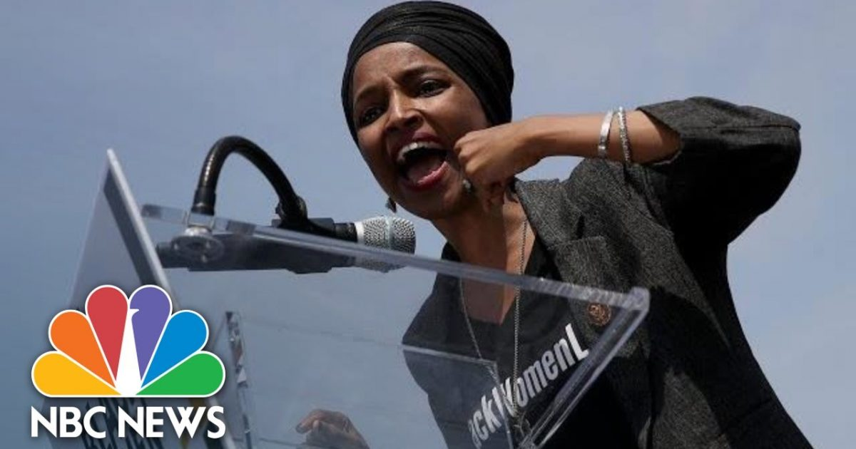 Photo of Ilhan Omar Supports Group That Produced Child Beheading Skit