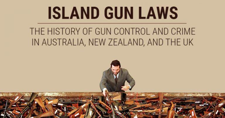The History of Gun Control & Crime in Australia, New Zealand, & the UK