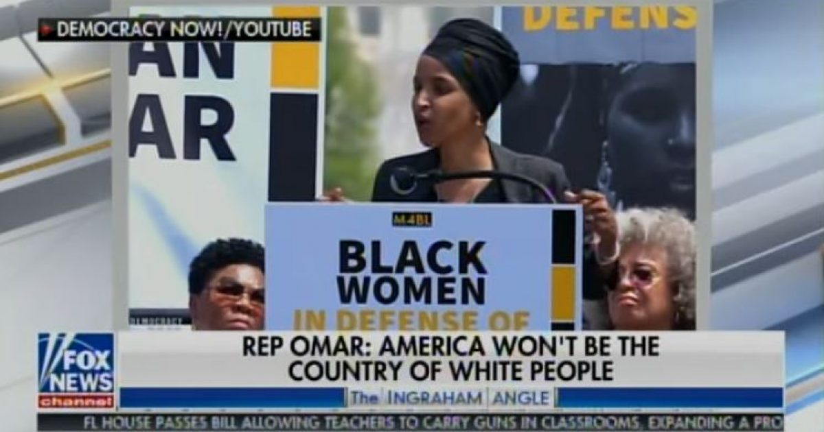 Photo of Watch: Ilhan Omar shows hatred for America, says nation 'founded on the history of native American genocide'