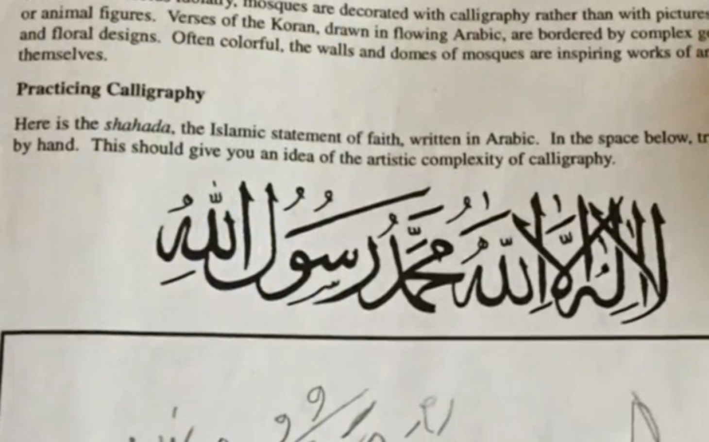 Photo of Christian Student Forced to Write Islamic Conversion Creed Takes Case to The Supreme Court