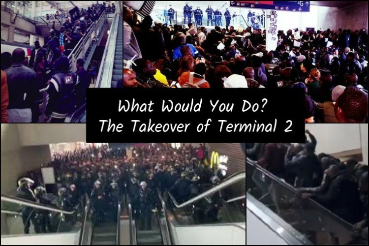 Photo of What Would You Do to Survive? An Analysis of the Takeover of Terminal 2