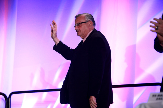 "Photo of Joe Arpaio invites CNN to look at law enforcement investigation findings which conclude Barack Obama's birth certificate is a ""forgery,"" CNN fails to followup"