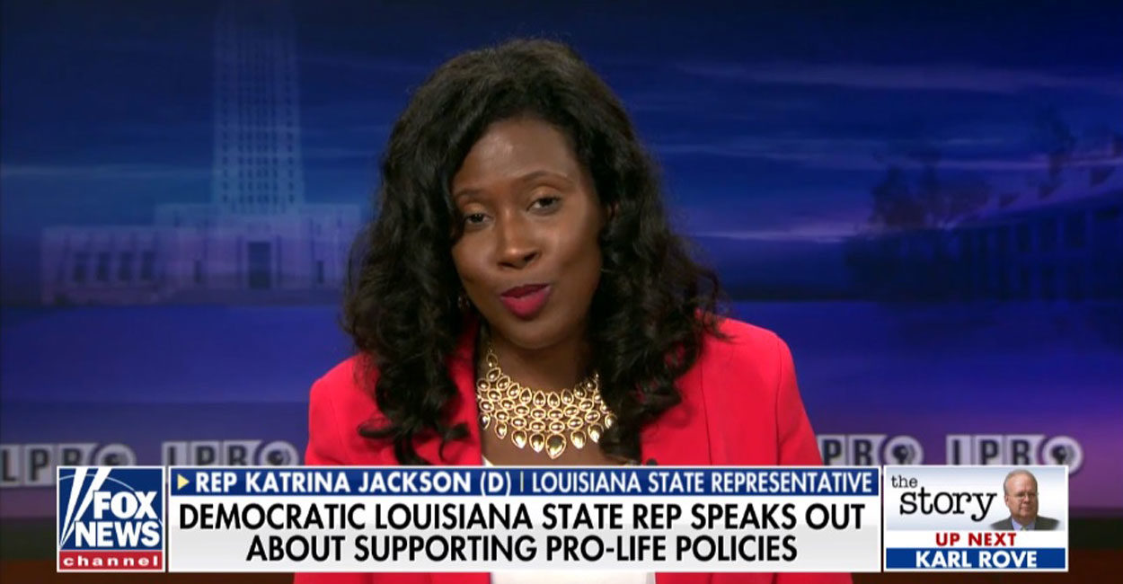 Photo of 'Majority of Louisiana Democrats are Pro-Life' — DEM Katrina Jackson Defends State's Abortion Ban
