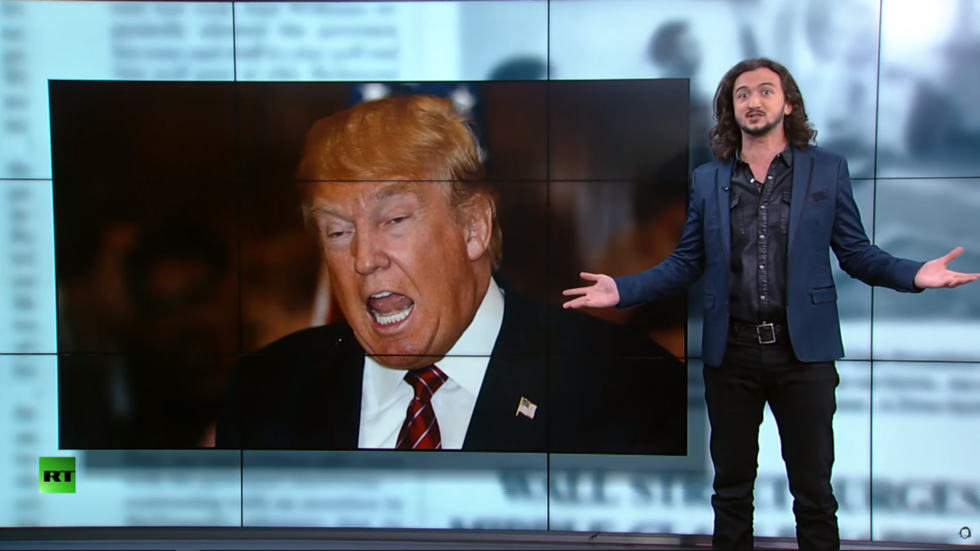 Photo of 'Why is Trump such a pussyfooting peacenik?' Lee Camp savages war-horny CNN