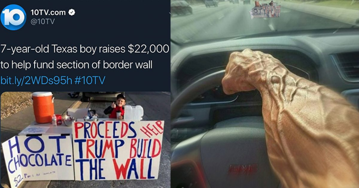 Photo of Twitter Allows Post Promoting Murder Of 7-Year-Old Boy Who Raised Money To Build Border Wall – More Than 90,000 Likes
