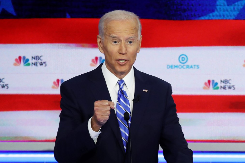 "Photo of Joe Biden Wants to Regulate ""Number of Clips in a Gun"""
