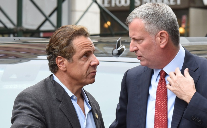 Photo of Cuomo & De Blasio Spit In The Face Of 9/11 Victims