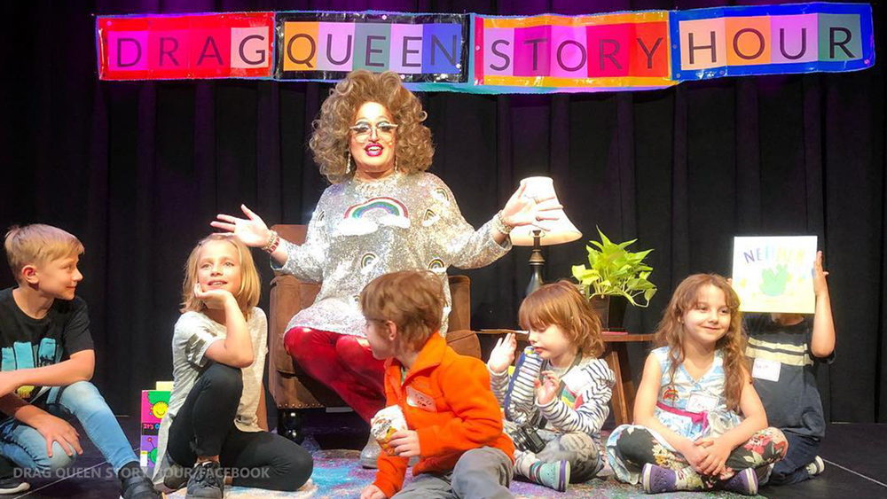 """Photo of Spokane, WA: Police SNIPERS deployed to protect """"Drag Queen Story Hour"""" — Christian Pastor Arrested"""