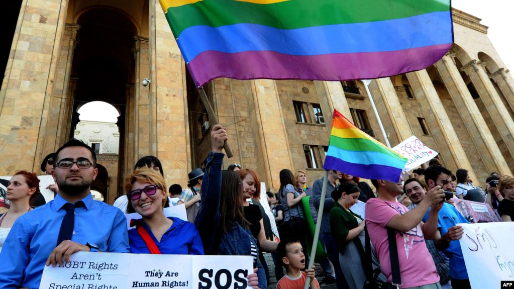 Photo of US Embassy, George Soros Push Gay Pride Parade in 84% Christian Country of Georgia