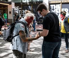 Portland: Watch Antifa Thugs Beat Elderly Man With a Crowbar