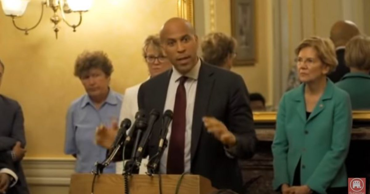 Photo of Wake Up America: Cory Booker confirms that killing babies part of Democrat Party 'values'