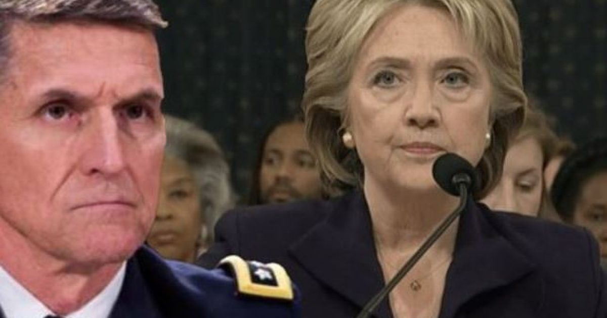 Photo of Flashback: General Michael Flynn Linked Clintons To Terrorist Funding Before Becoming a Target