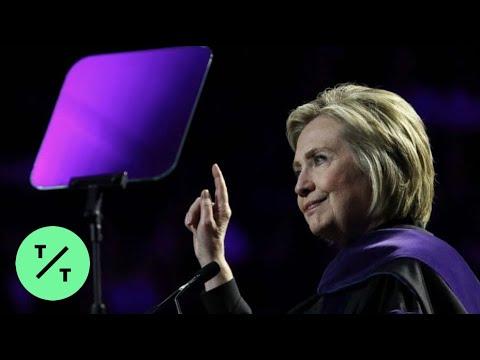 Photo of Hillary Clinton calls herself 'Madam President' in commencement speech